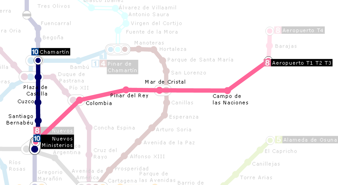 airport-to-Chamartin-train-station